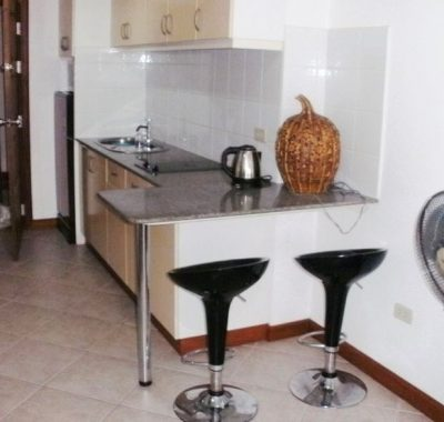 Rental with fully equipped kitchen