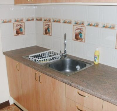 Rental with kitchen sink