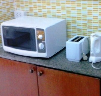 Studio rental in Jomtien with a microwave